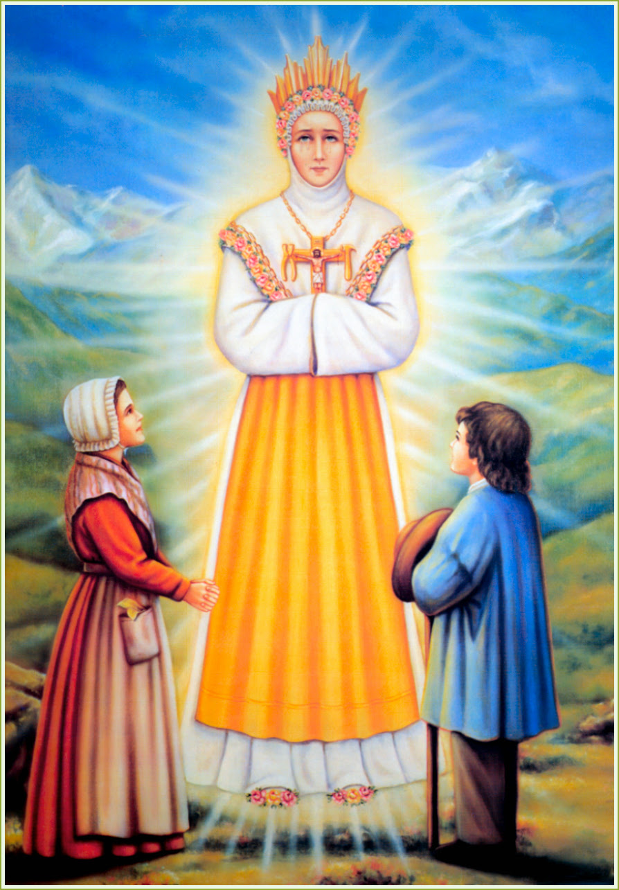 Image result for OUR LADY OF LA SALETTE