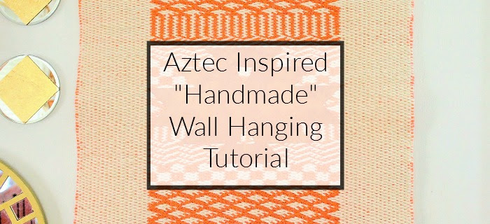 aztec inspired handmade wall hanging tutorial