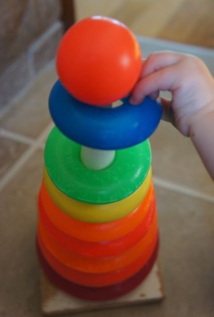 Anne S Odds And Ends Fisher Price Friday Giant Rock A Stack