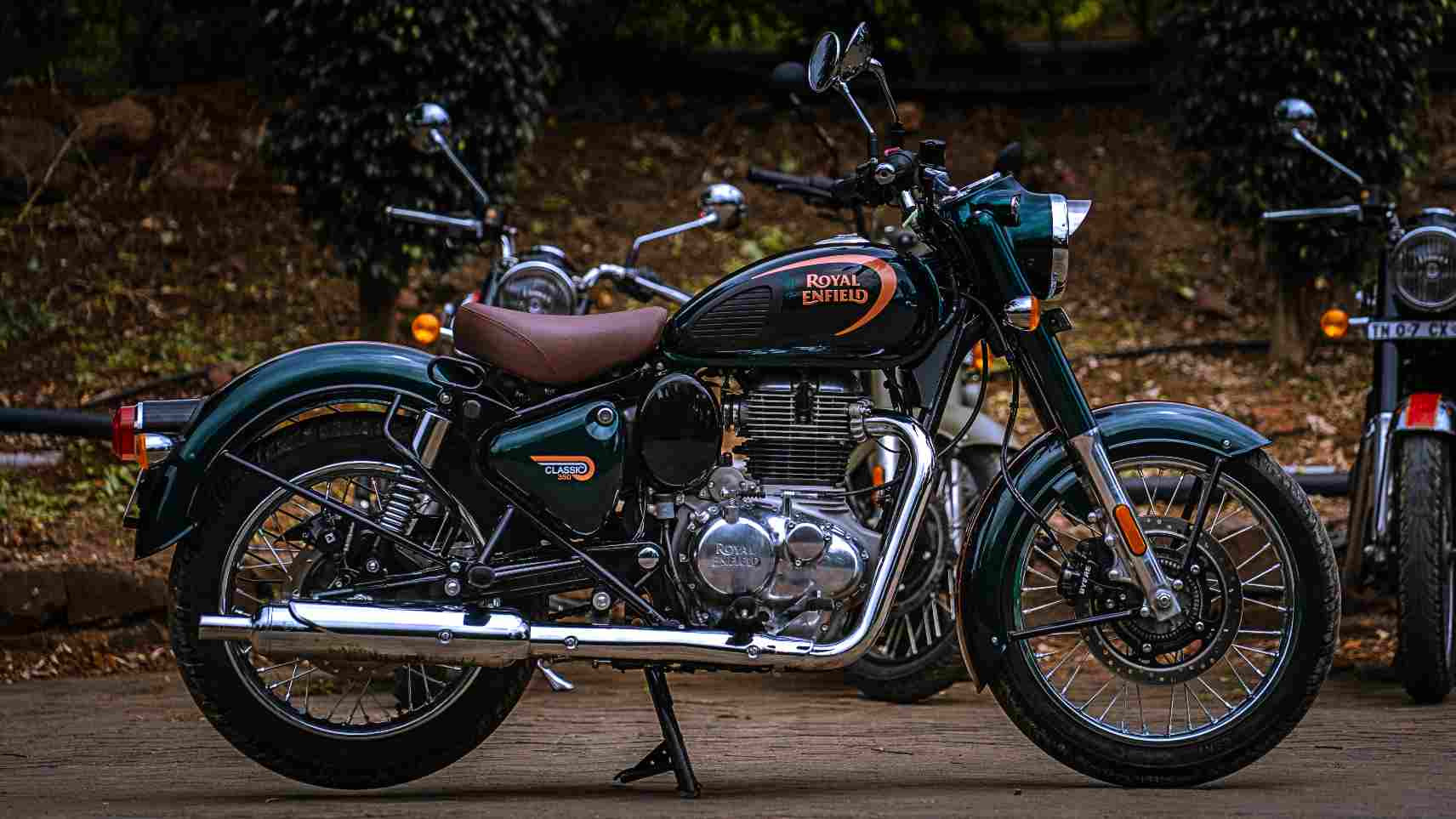It may look familiar, but the new Classic 350 is a clear leap over its predecessor in terms of ability. Image: Royal Enfield
