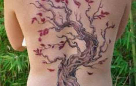 Cherry Blossom Back Tattoos For Women Tattoos Designs Ideas