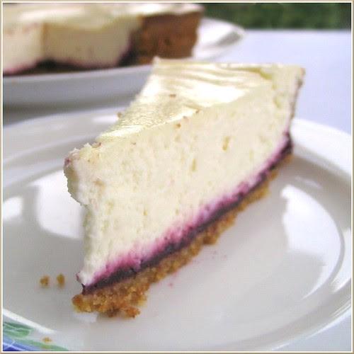 Hidden Berry Cheesecake