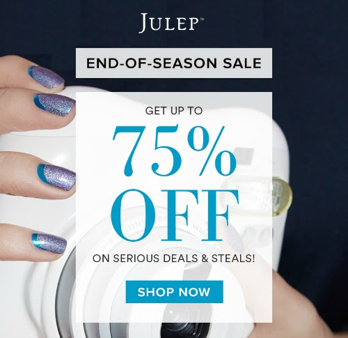 Julep End of Season Sale  - Up to 75% off