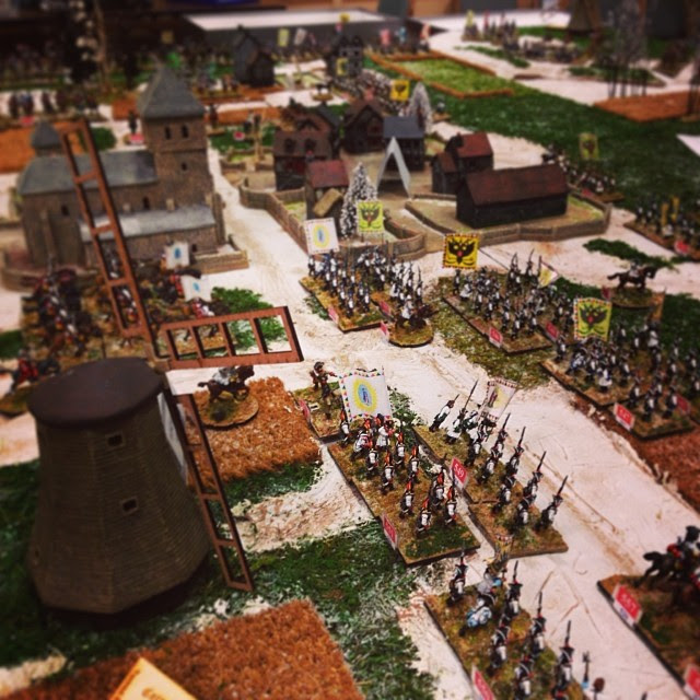 Historical Miniature games are so incredibly detailed! #carnageonthemountain