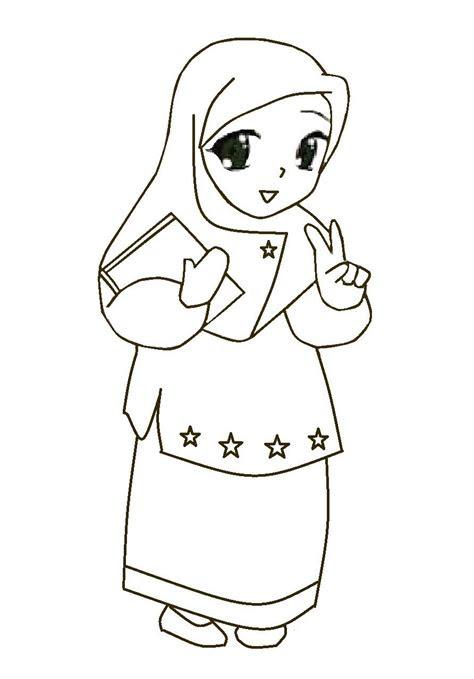 top gambar kartun muslimah comel top gambar