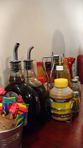 the griddle condiments