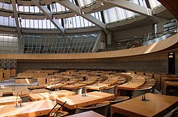 Plenarsaal NRW-Landtag