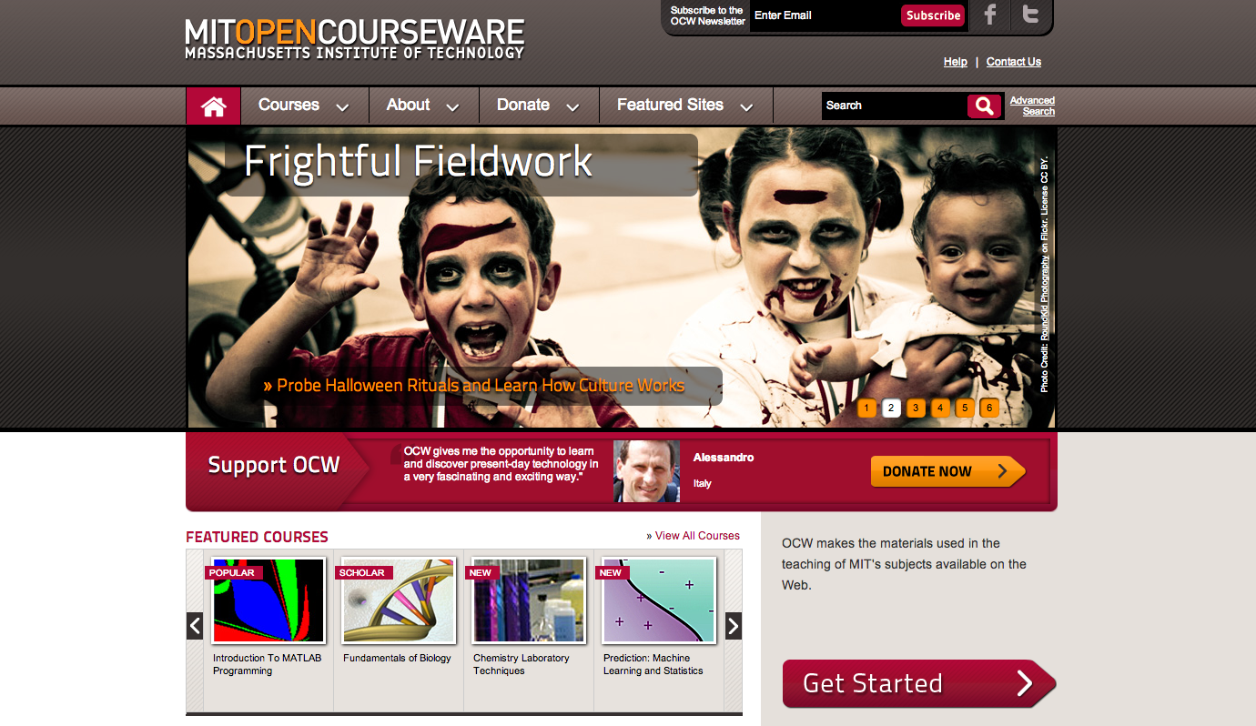 7. MIT Open Courseware
