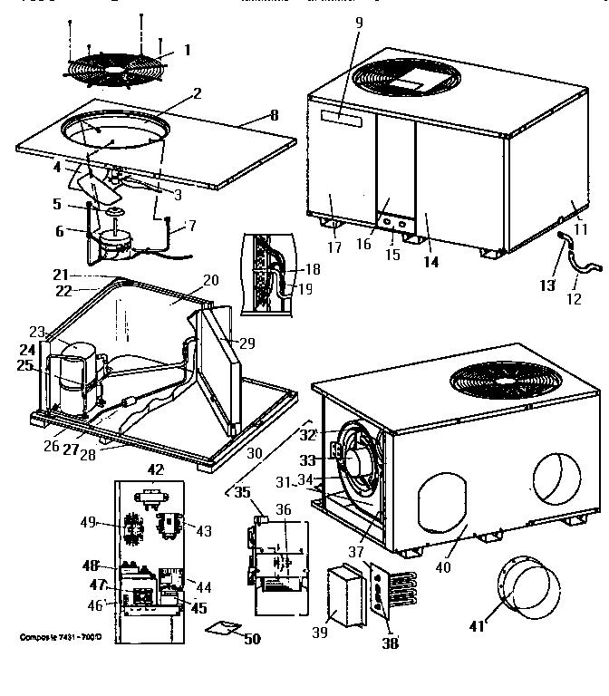 33 Central Air Conditioner Parts Diagram