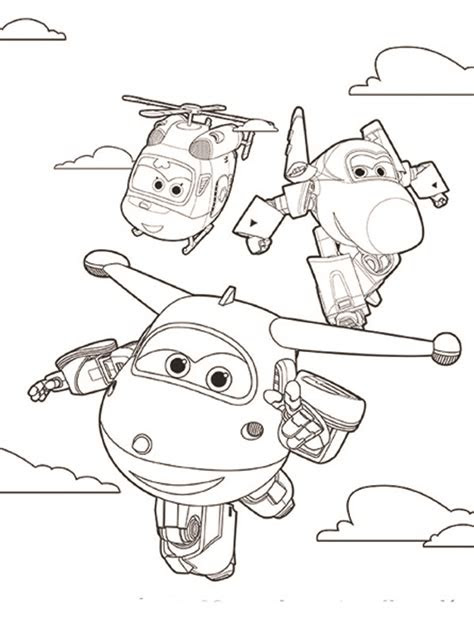 super wings coloring pages    print