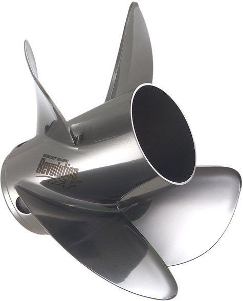 L'hélice Révolution 4 de Mercury