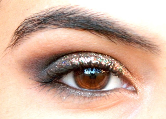 juliana leite make up dia #4 glitter dourado com preto 058
