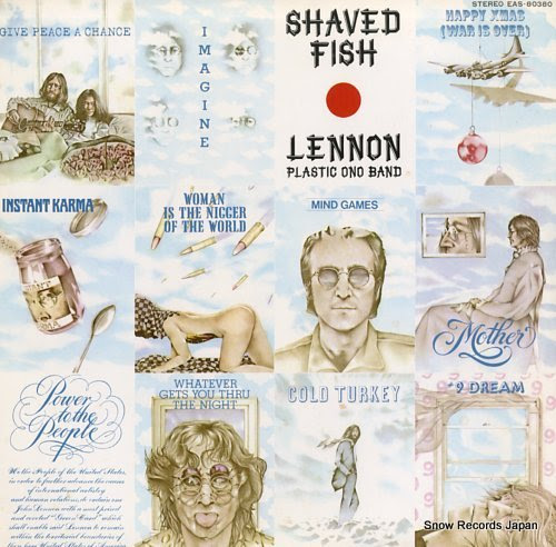 LENNON, JOHN shaved fish