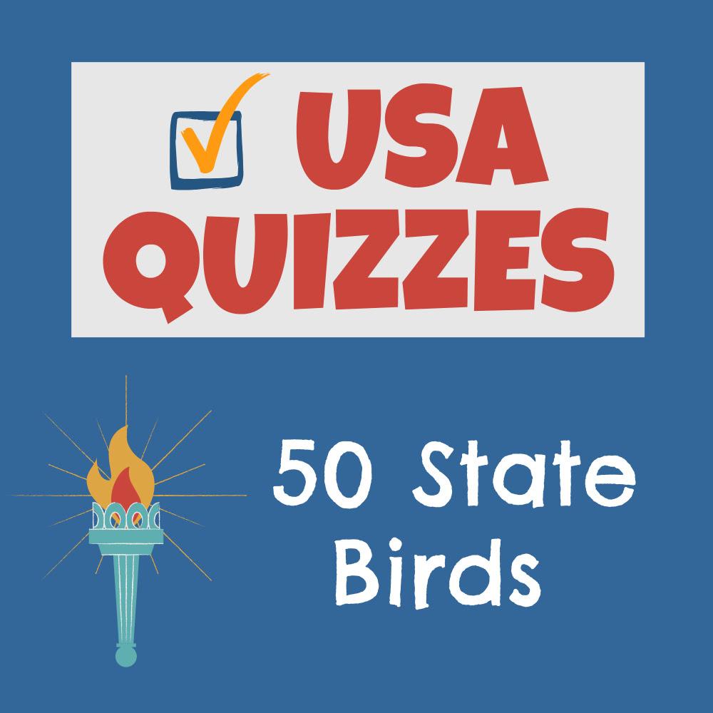USA State Birds Quiz