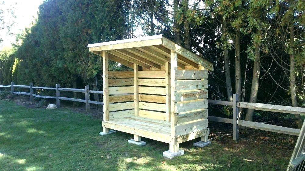 40 Best Diy Outdoor Firewood Rack Ideas