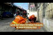 Lurah Duri Utara Tertibkan Pedagang di Jalan Krendang Raya