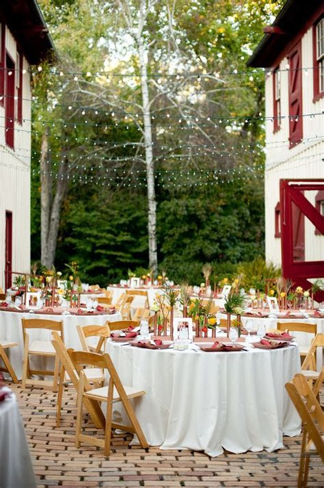 Outdoor Wedding Ceremony in Virginia! Simple yet elegant