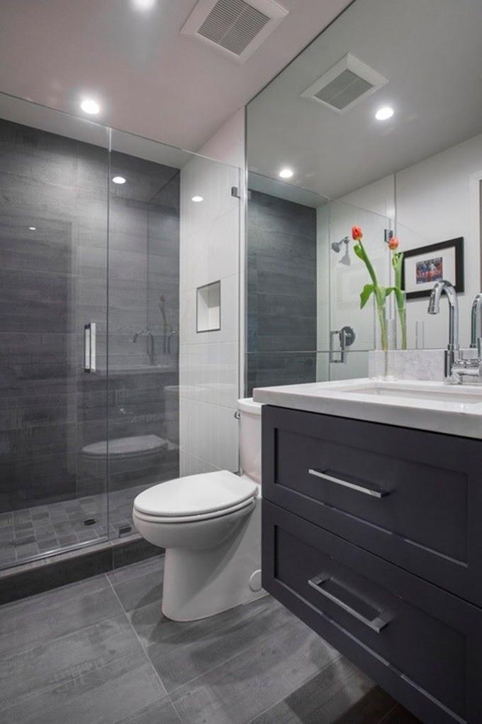 Awesome Bathroom Ideas In Grey Photos