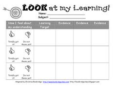 Exit Tickets for I Can Statements- would like to make these kinder ...