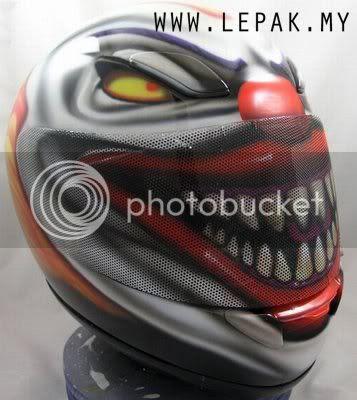 AirbrushHelmet5 [Gambar Menarik] Design Airbrush Helmet Yang Cun