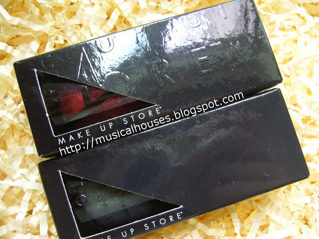make up store nail polish box