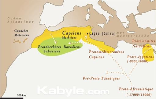 Les Capsiens (fin paléolithique)