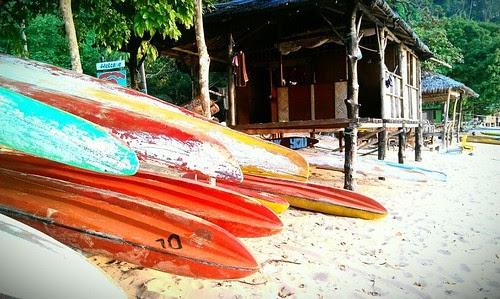Canoes by Ms N