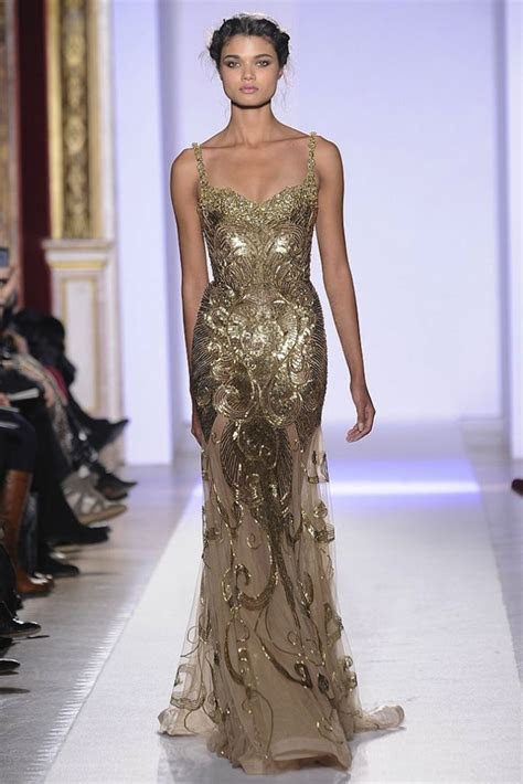 Bridal Style Inspiration: Gilded Magic by Zuhair Murad