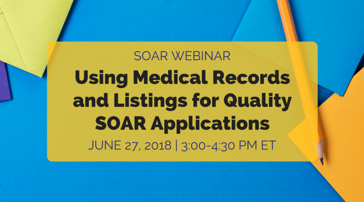 Using Medical Records and Listings for Quality SOAR Applications