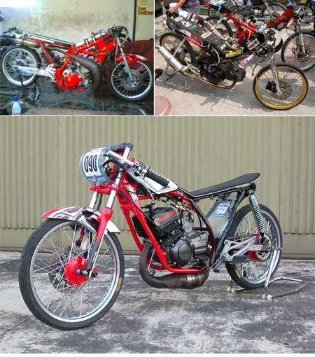 Tempat Modifikasi Motor Yamaha Byson Di Jakarta Gambar Modifikasi