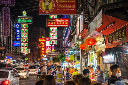 Makanan enak  Chinatown Bangkok