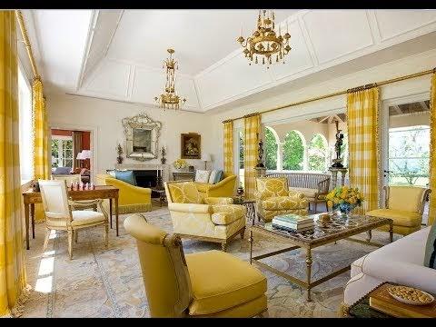 concept desain kombinasi warna kuning emas untuk ruang