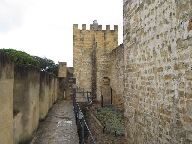 muralhas Castelo de São Jorge Lisboa