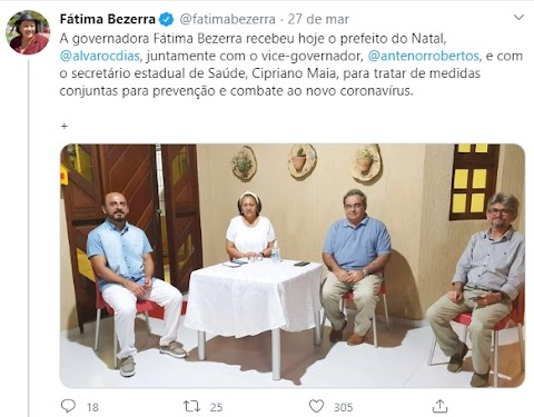 "SÓ FALTAVA ESSA. GOVERNADORA DO RN, ""FÁTIMA,TRABALHA NA BASE DA MACUMBA"""