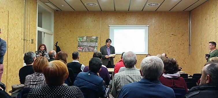 Presentació de la Plataforma Canal Viu a l'Arxiu Comarcal del Pla d'Urgell