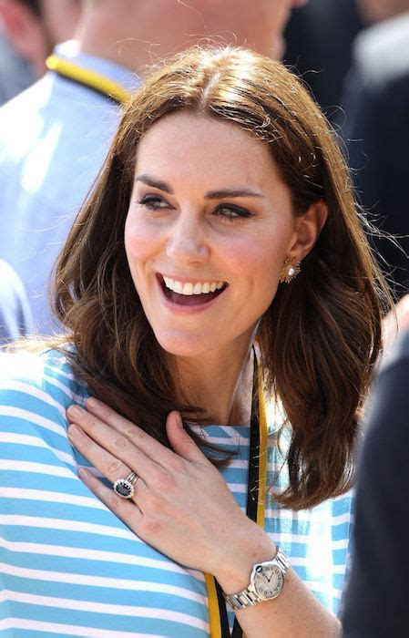 Why Kate Middleton wears three rings on her engagement