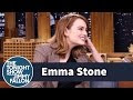 Jimmy Fallon Has To Guess What Emma Stone Is Whispering - Video