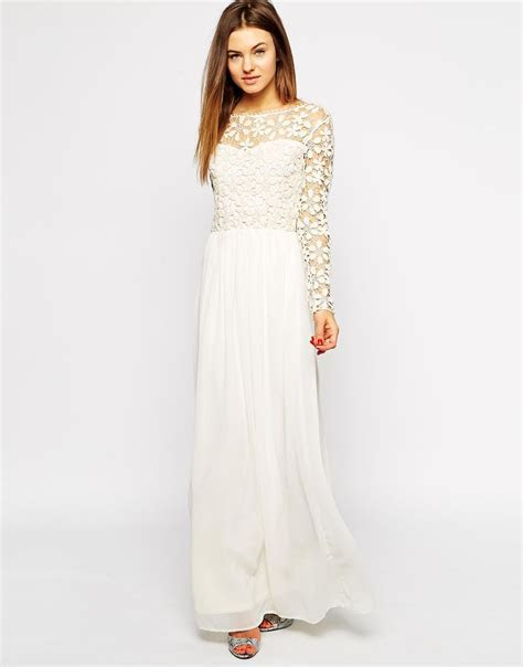Club L Crochet Maxi Dress with Long Sleeves   Styling