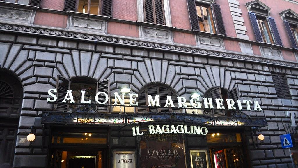 Teatro Salone Margherita, Via dei Due Macelli, Rome