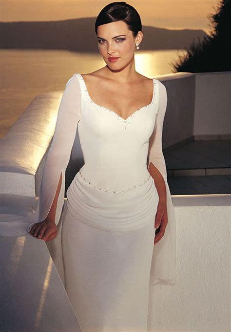 Beautiful, Elegant wedding dress and Older bride on Pinterest