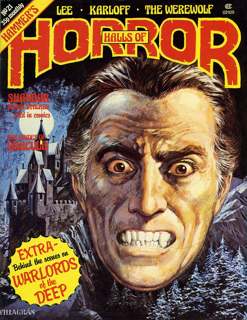 House Of Hammer Magazine (Halls Of Horror) - Issue 21 (1981)
