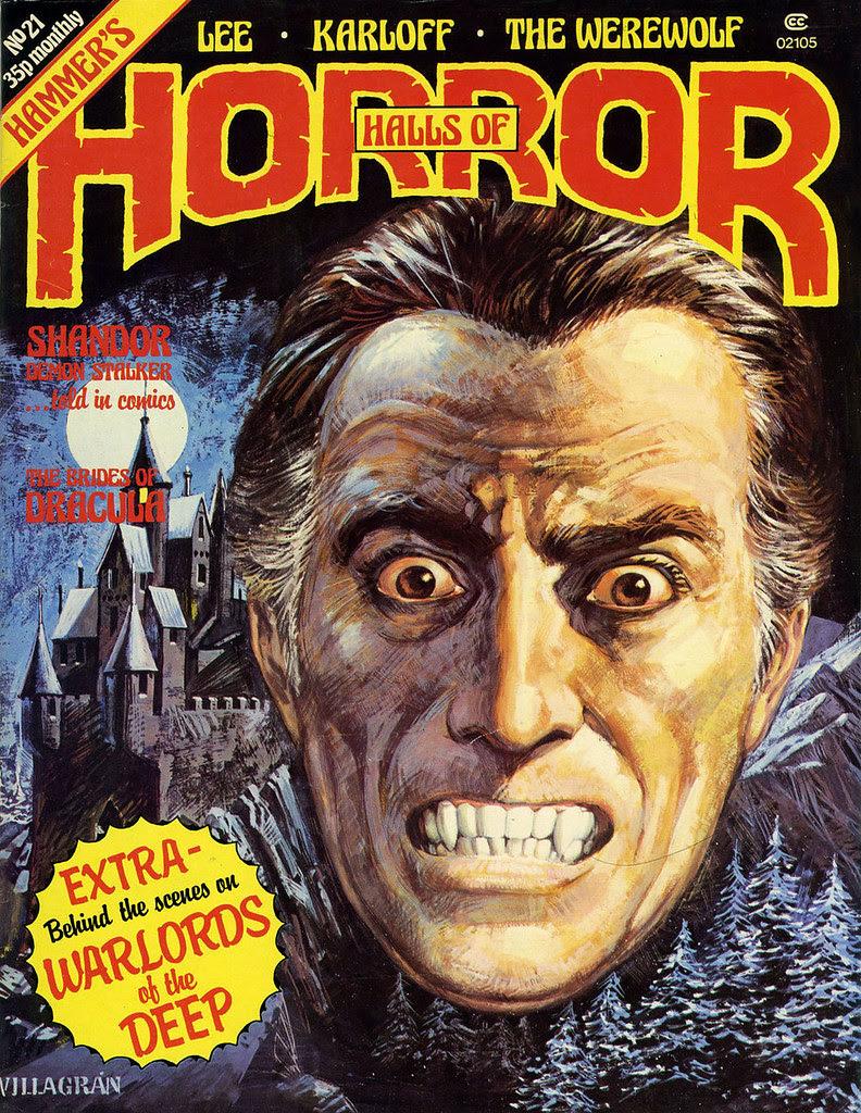 House Of Hammer Magazine (Halls Of Horror) - Issue 21 (1981)