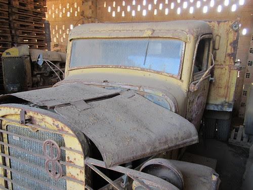 Chevrolet de l'empresa Argiles Colades SA de Corçà (Baix Empordà).