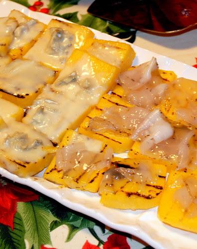Crostini polenta