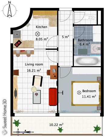 Sweet Home 3d Galeria