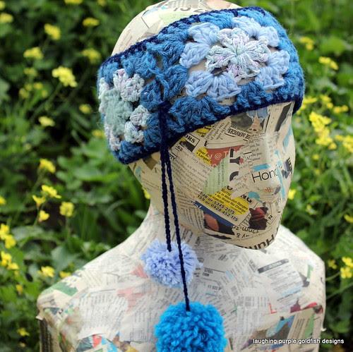 Granny Square Headband