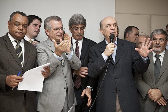 Serra entra na disputa para ser o candidato do PSDB à Prefeitura de São Paulo