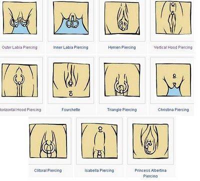 i43sag: pierced vaginas