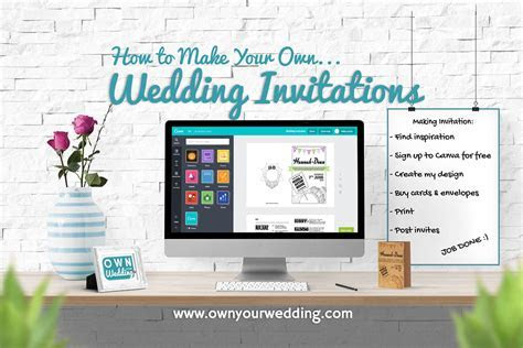 How to Make Your Own Wedding Invitations   Own Your Wedding