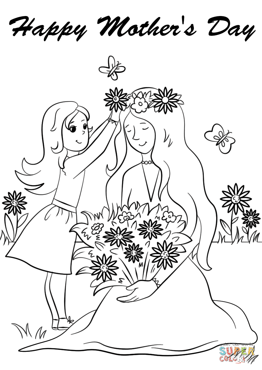 csp47005 mothers day drawing - HD849×1200